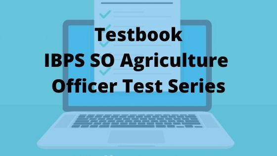 Testbook IBPS SO Agriculture Officer Test Series Review - BTS