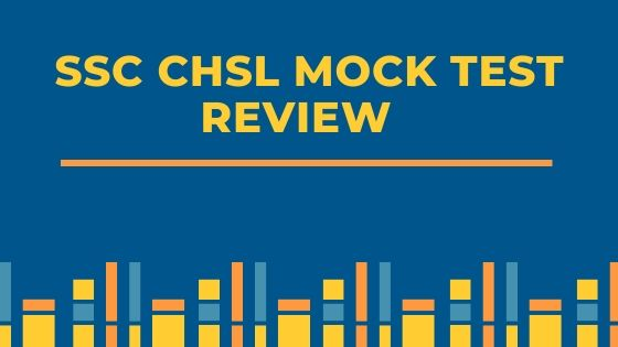 SSC CHSL Mock Test Review - BTS